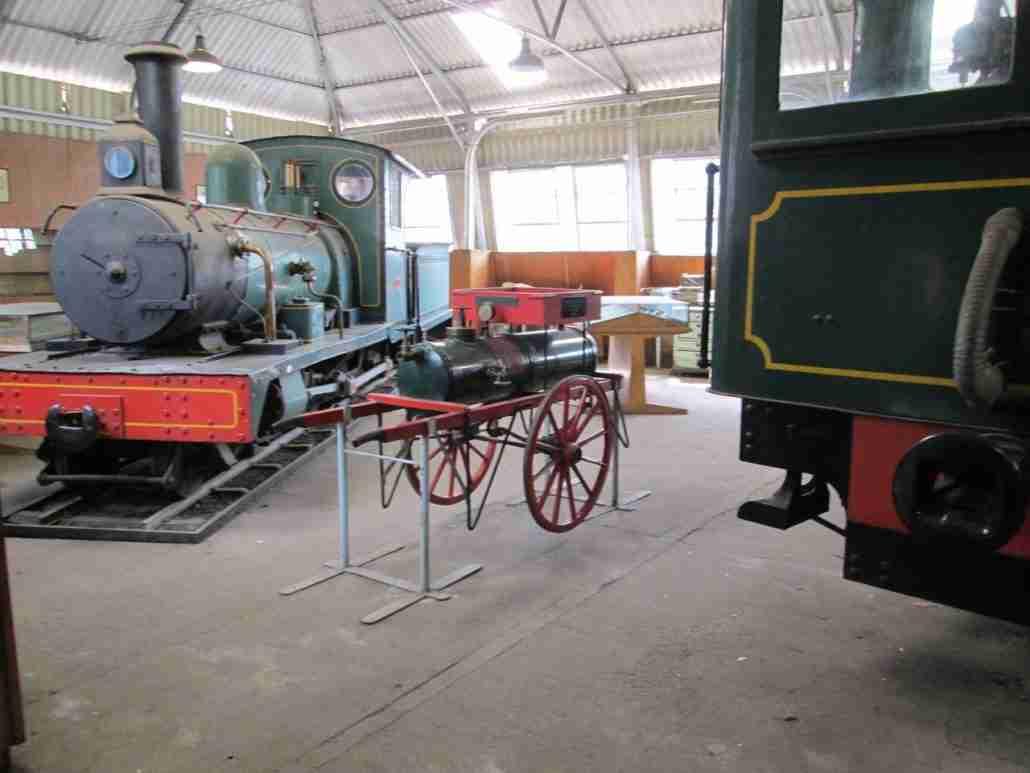 Bulawayo inside railway museum