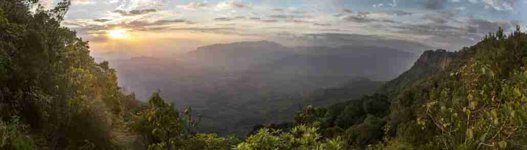 Sunrise over the Honde Valley
