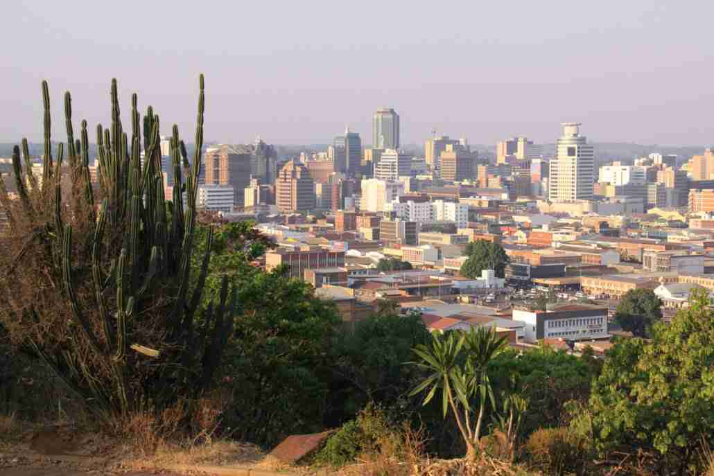 Harare from the kopje