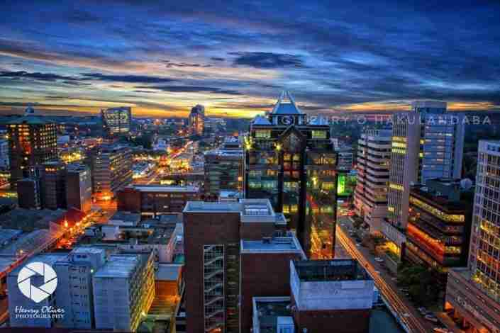 Harare by night
