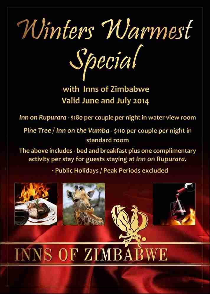 inns of zimbabwe winter special