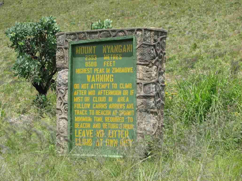 Nyanga sign