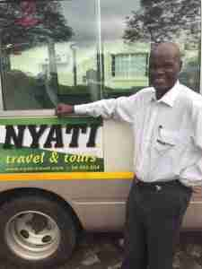 crineas driver guide for Nyati Travel
