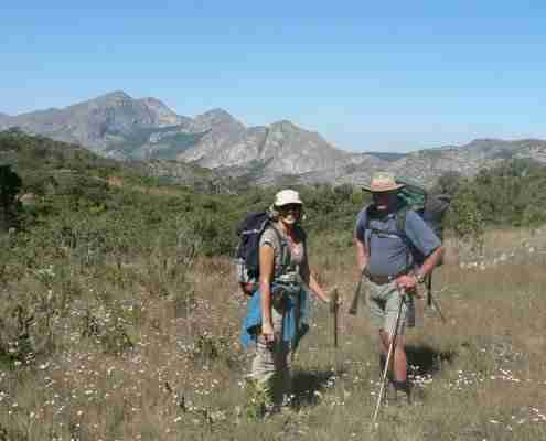 Walkers in Chimanimani