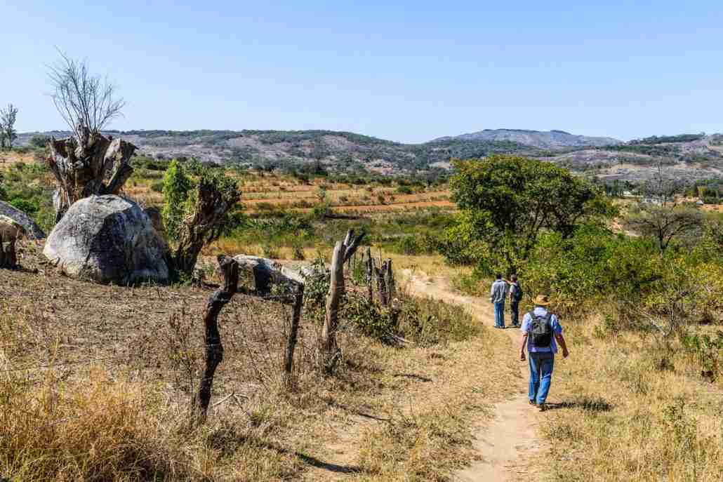 Walking trails in the Eastern Highlands