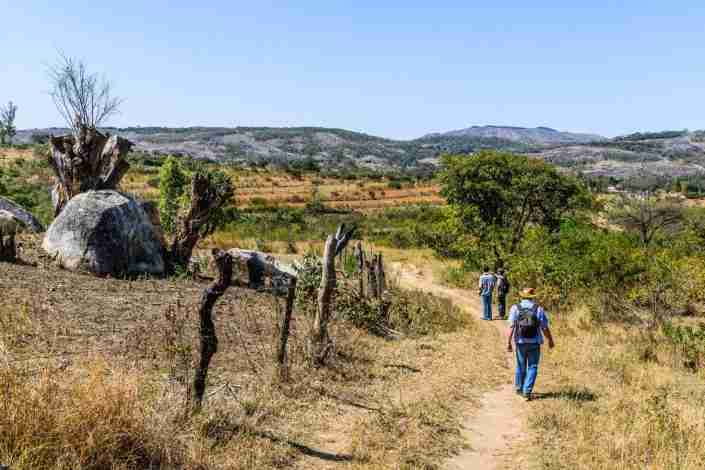 activities walking trails eastern highlands