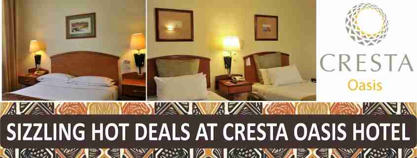 Cresta Oasis January Specials banner