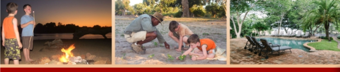 Banner image for the Focus on Kids at Chilo Gorge Safari Lodge