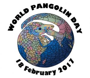 World Pangolin Day 2017 logo