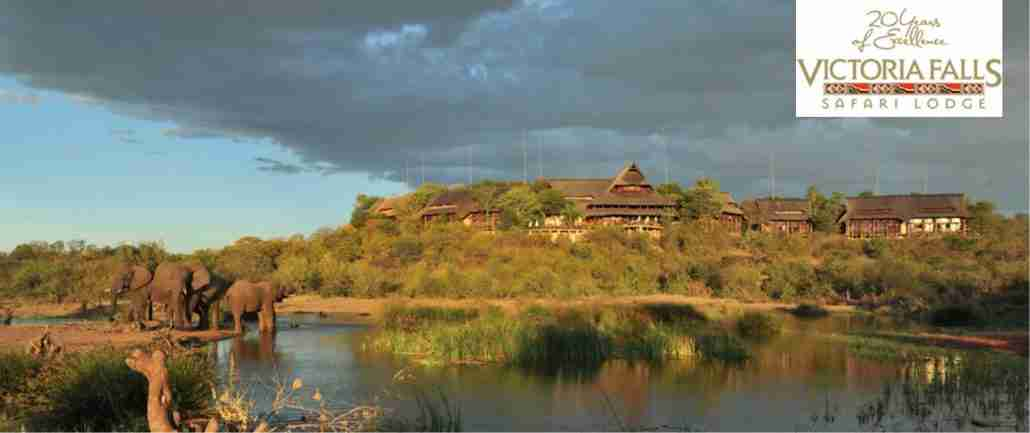 Victoria Falls Safari Lodge re-thatch project