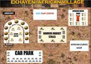 Ekhayeni - African-Village Map