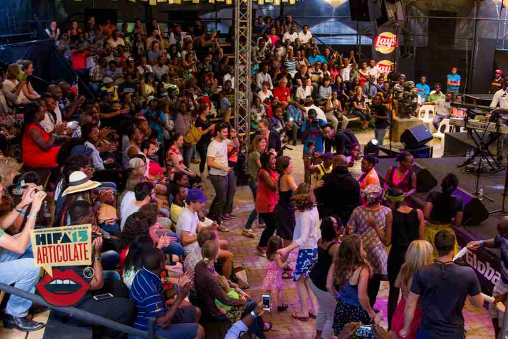 HIFA crowd